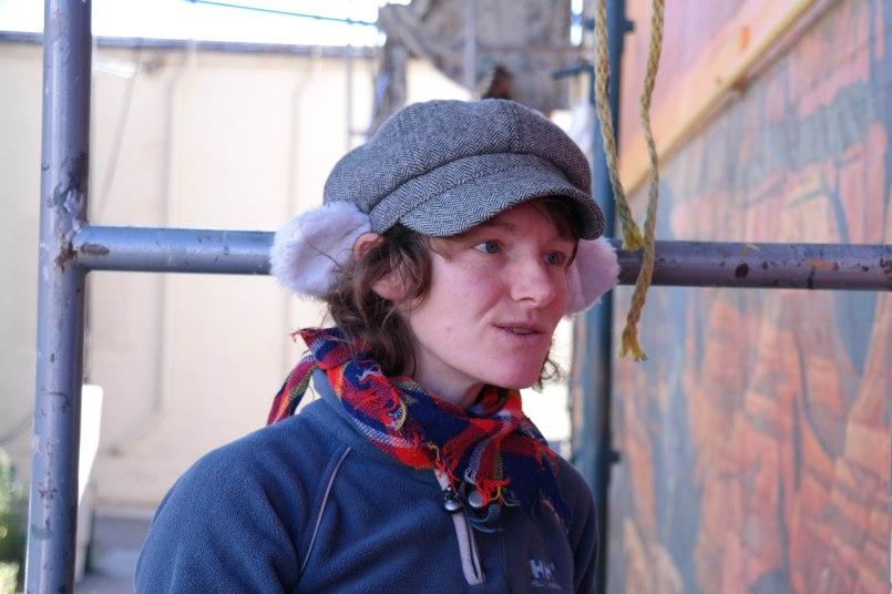 Margaret Dewar, born in  northern New York, explains the Mural Mice controversy in Prescott, Arizona.