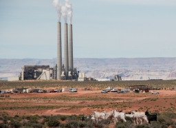 The Navajo Generating Station in Page, Arizona.