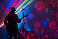 John Gourley of Portugal. The Man at the Prochnow Auditorium on the Northern Arizona University Campus.